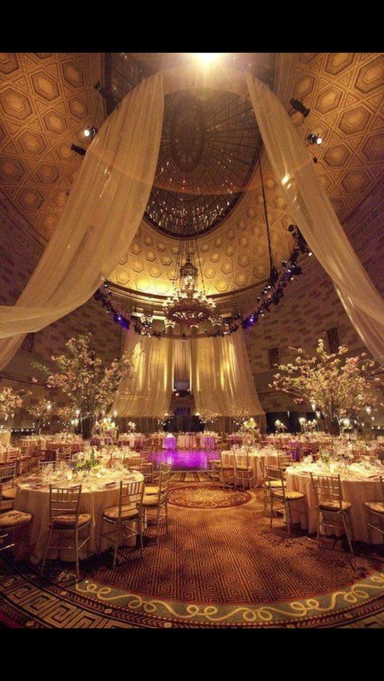 Indoor wedding #wedding #decor #bridal #reception