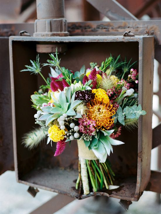 Bouquet by HotHouseDesignStu..., photo by JamieClayton.com