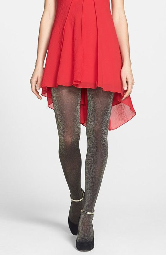 Sparkle party tights!