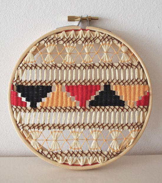 DIY Inspiration -Vintage weave