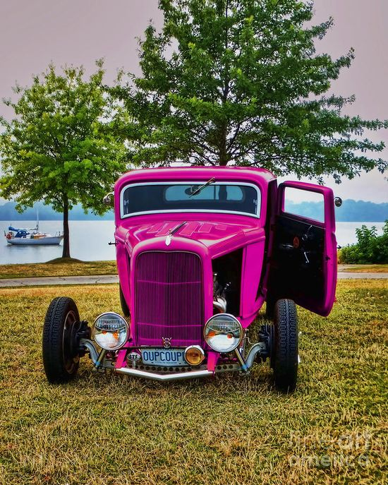 Hotrod Pink ? Girly Cars for Female Drivers! Love Pink Cars ? It's the dream car for every girl ALL THINGS PINK!