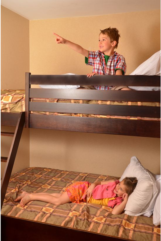 Kids love our Bunk Bed rooms !