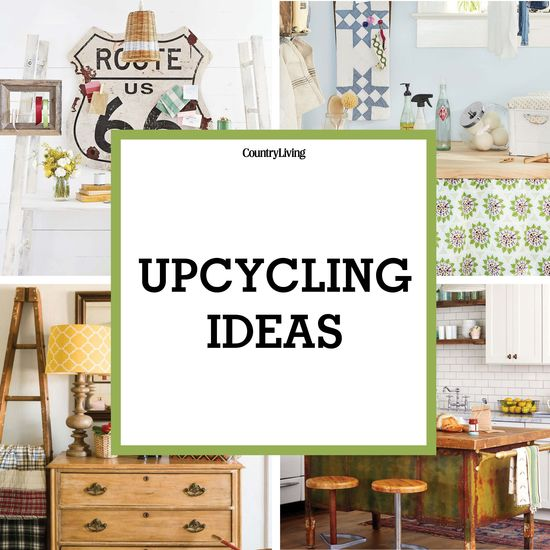 Simple DIY ideas you can tackle yourself from Country Living (http://www.countryliving.com) and Hometalk (http://www.hometalk.com) Upcycling Ideas  Board