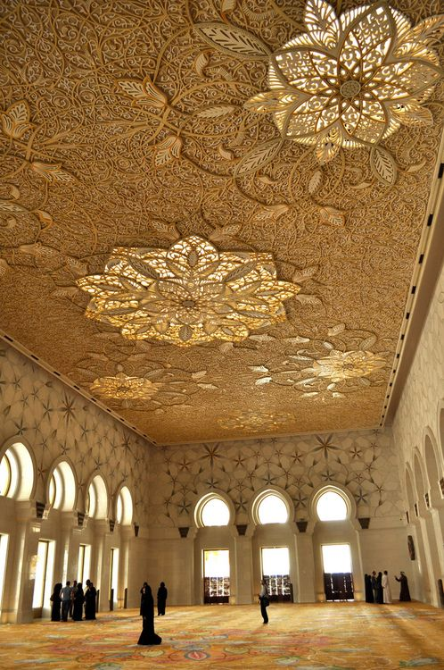 Architectural Detail - Sheikh Zayed Grand Mosque UAE