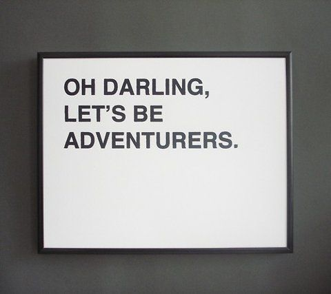 lets be adventurers