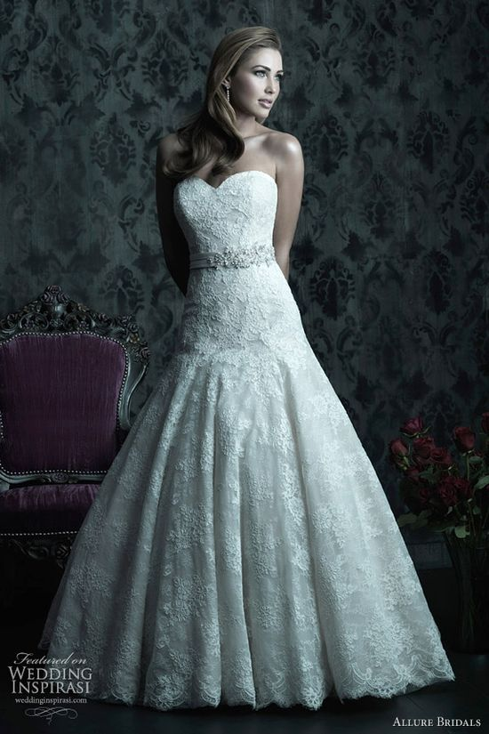 allure bridals couture c228 wedding dress fall 2013