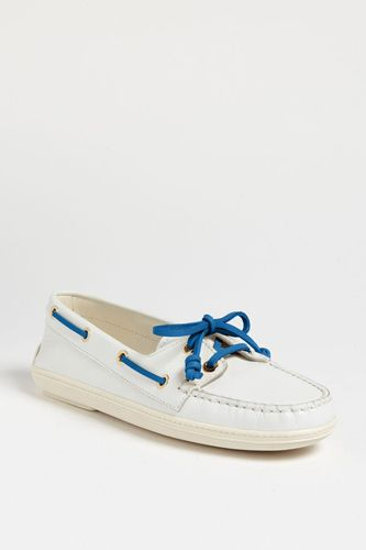 Fresh take on boat shoes
