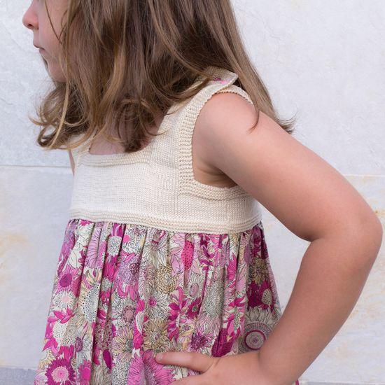 Lateral vestido ganc