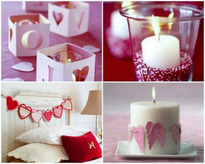 Romantic valentines day decorating ideas
