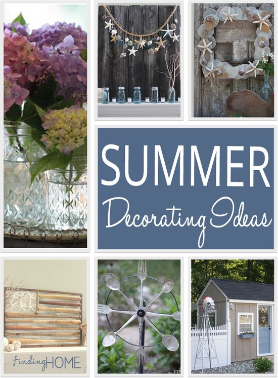 Summer Decorating Ideas from Finding Home (findinghomeonline...)