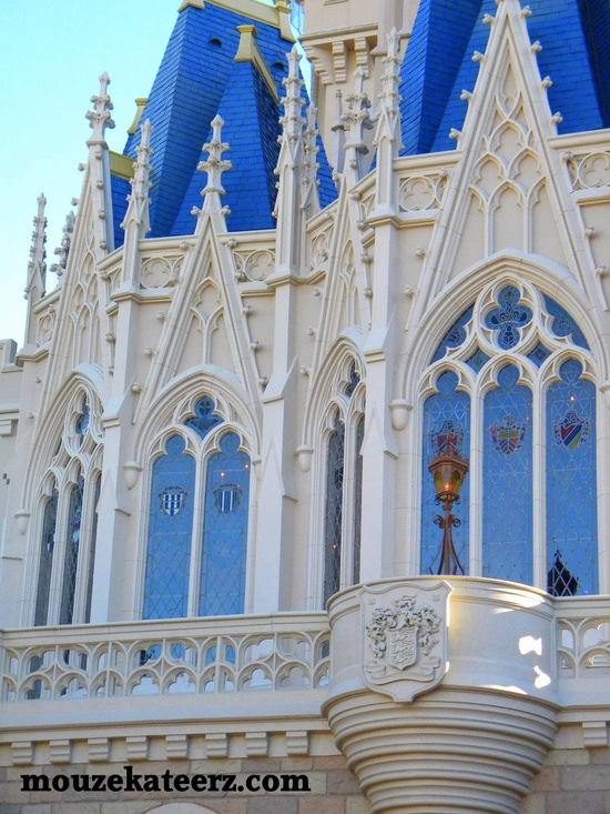 Cinderella Castle up close