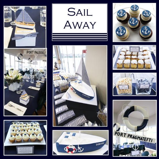 Nautical Sailor Party Theme
