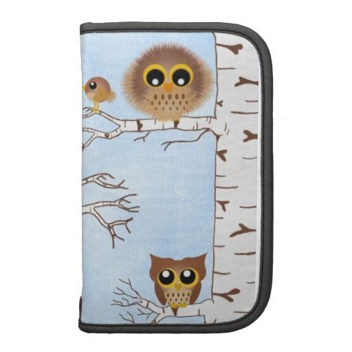 Tree #Owls Planner, organizer,,folio gift