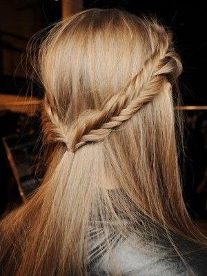 New take on the fishtail braid