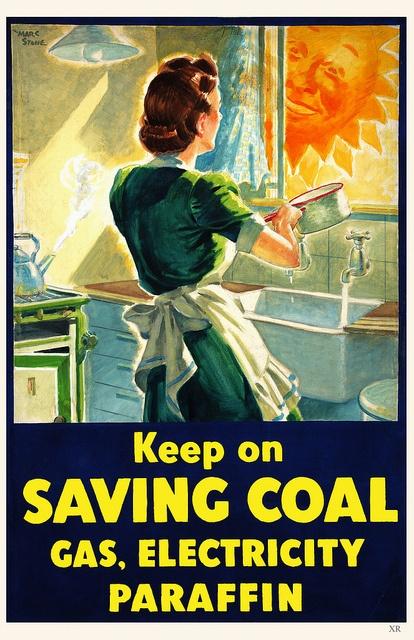 save Fuel, WW II