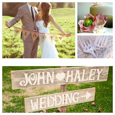 Country Weddings {Handmade Etsy Finds} #wedding #diy #handmade #etsy