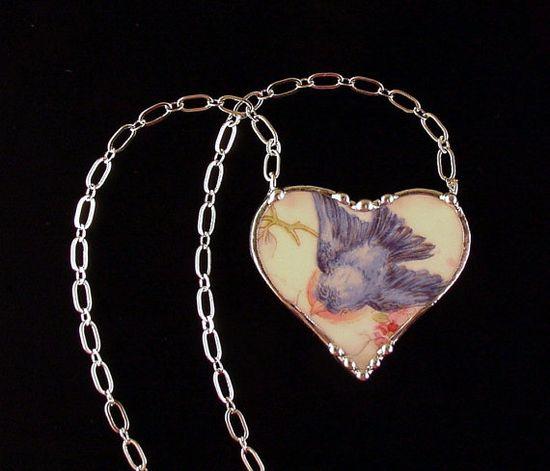 Lovely Vintage China Necklace