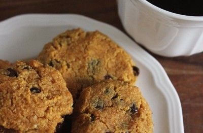 Paleo pumpkin chocolate chip cookies!