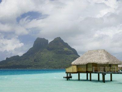 Pearl Beach Resort in Bora Bora… stayed here on my honeymoon.