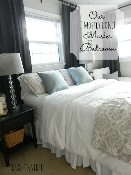 our mostly done master bedroom
