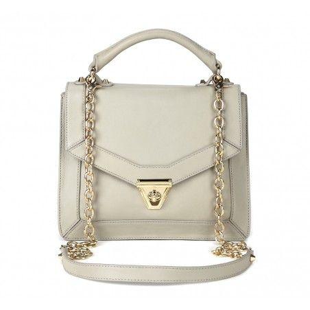 In a grey phase - loving this grey handbag.