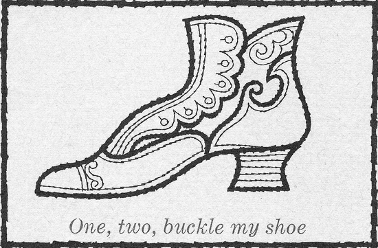 One, Two, Buckle My Shoe