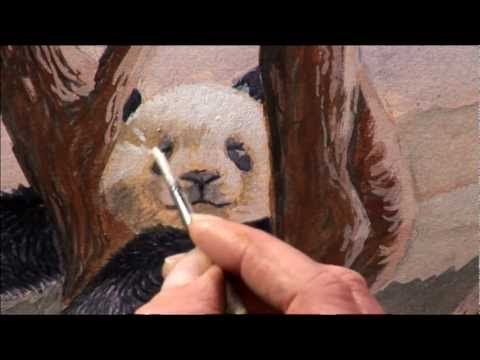 Drawing & Painting Wild Animals with Vic Bearcroft Two - Part Two