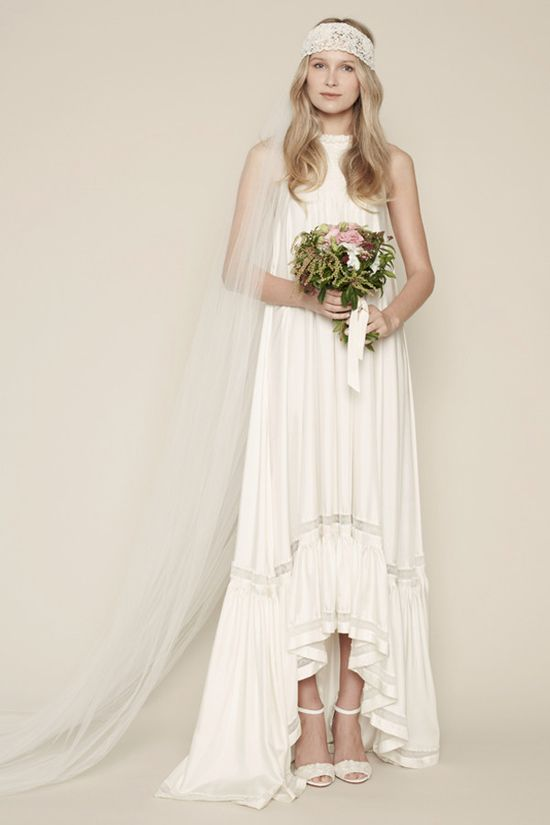 Rue De Seine Marais wedding dress - Read more on One Fab Day: onefabday.com/...