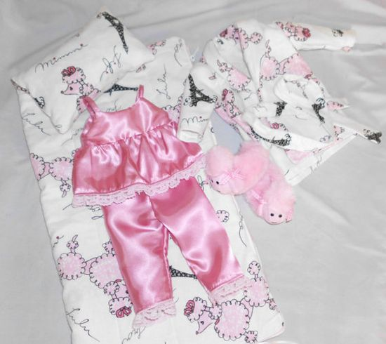 Poodle PJ for American Girl doll