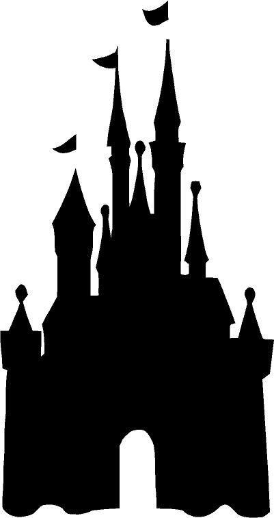Disney Castle Chalkboard.