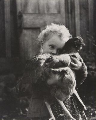 Girl + Chicken
