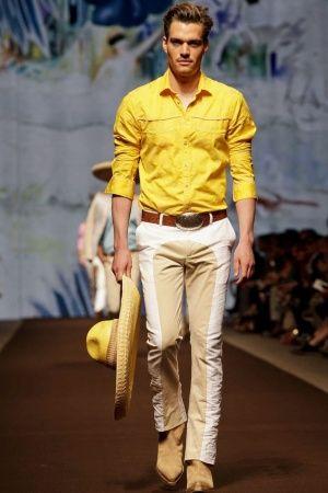 Etro Menswear Spring Summer 2014 Milan via nwf.sh/11AxKG9