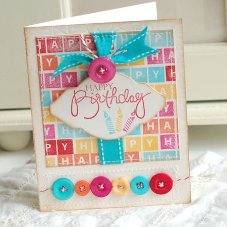 Betsy Veldman multi color birthday