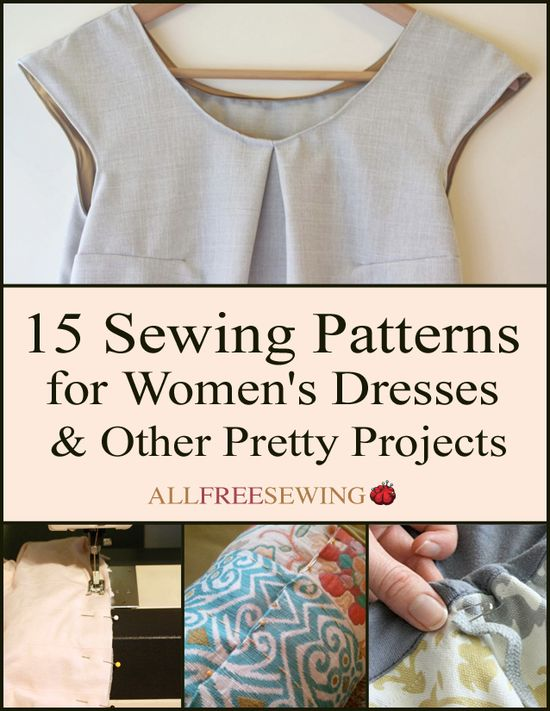 15 Sewing Patterns f