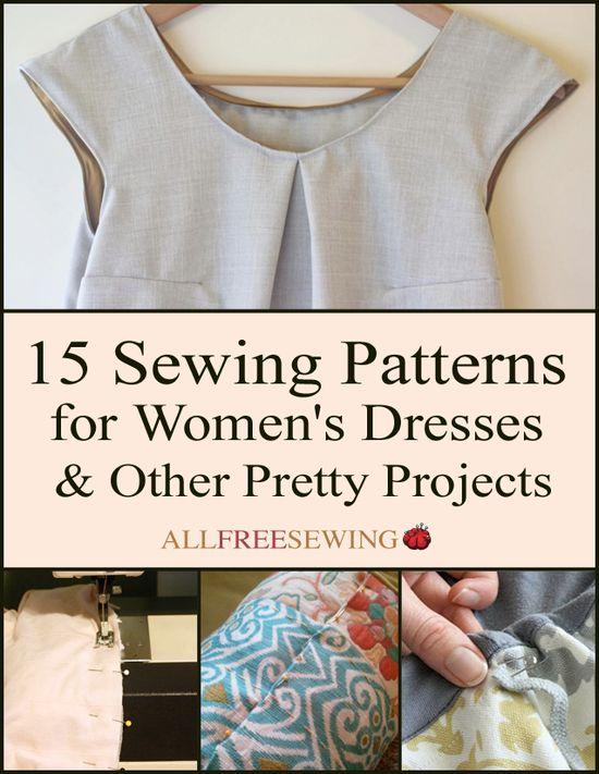 15 Sewing Patterns f
