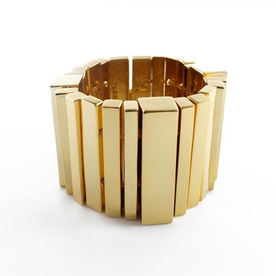 Modernist Shapes Bracelet by nOir Jewelry