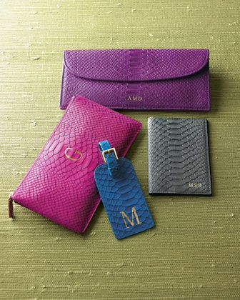 Leather Travel Accessories - Neiman Marcus