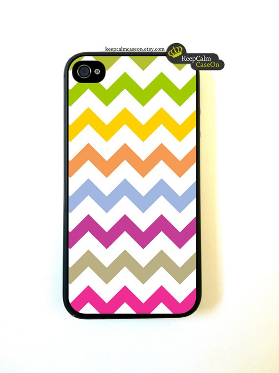 Iphone 4 Case Multi Chevron Pattern iphone 4 by KeepCalmCaseOn, $15.00