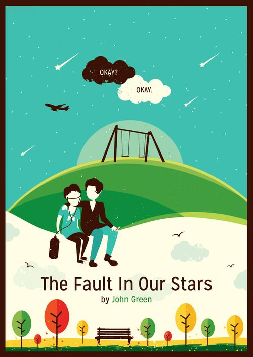 The Fault In Our Stars | Redesigned Cover