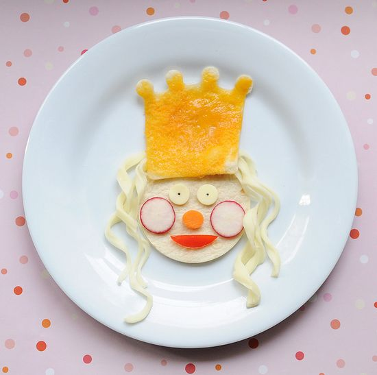 Cute Lunch Idea: A Meal Fit for a Queen