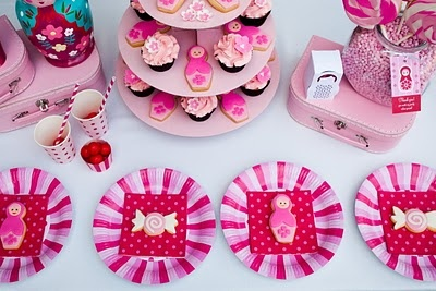 Cute for a little girls birthday party.