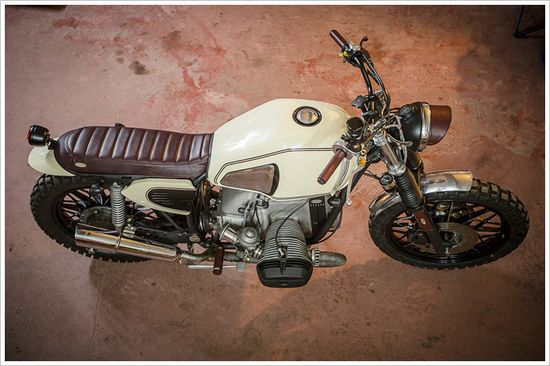 1983 BMW R80RT -'CARNERA' - Pipeburn - Purveyors of Classic Motorcycles, Cafe Racers & Custom motorbikes