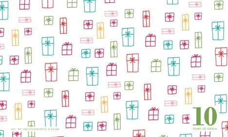 Free Downloadable Desktop Wallpaper 2011 - Presents