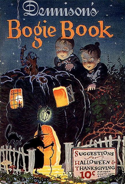 A far cry less than what an original copy of one of these classic annual Bogie Books would cost you today. #vintage #Halloween #book
