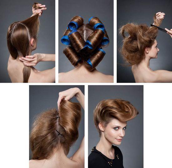 CHIGNON DOUBLE BANANE - Tuto #Chignon #banane #Bun #Braid #Hair #Styling #DIY #Elnett #LorealParis