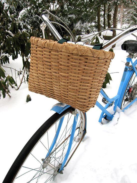 Bicycle basket.