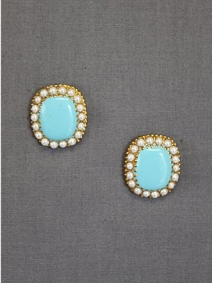 turquoise and pearls
