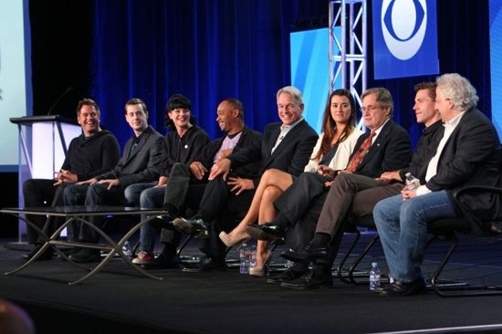 NCIS session at the CBS Winter Press Tour 2012