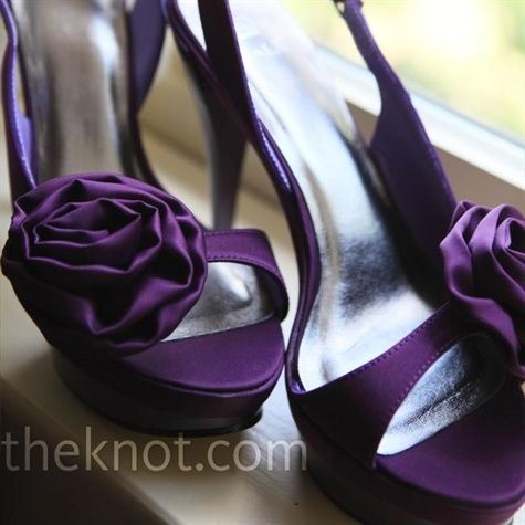 Purple Shoes!