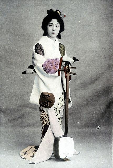 geisha de Taisho